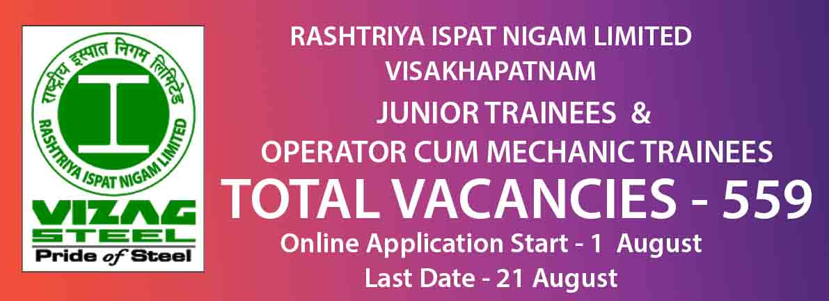 JUNIOR TRAINEES & OPERATOR CUM MECHANIC TRAINEES
